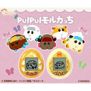 【PUI PUI モルカー】たまごっち『PUI PUI モルカっち』全3種モデル【バンダイ】より2021年10月発売予定☆