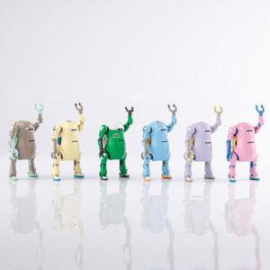 【メカトロウィーゴ】『タイニー メカトロウィーゴ3』6個入りBOX【千値練】より2021年9月発売予定♪