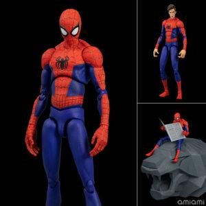 【スパイダーバース】SVアクション『ピーター・B・ パーカー/スパイダーマン』可動フィギュア【千値練】より2021年9月発売予定♪