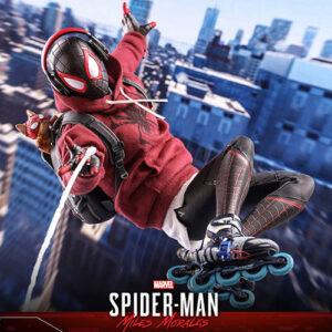 【スパイダーマン】ビデオゲーム・マスターピース『マイルス・モラレス/スパイダーマン 売店の看板猫スーツ版』Marvel's Spider-Man 1/6 可動フィギュア【ホットトイズ】より2022年12月発売予定♪