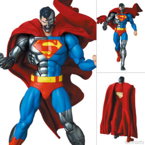 【スーパーマン】マフェックス『サイボーグ スーパーマン/CYBORG SUPERMAN(RETURN OF SUPERMAN)』MAFEX 可動フィギュア【メディコム・トイ】より2022年5月発売予定♪
