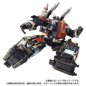 【ダイアクロン】DA-80『ビッグパワードGV〈ヴァースキャリバー〉』可変可動フィギュア【タカラトミー】より2021年12月発売予定♪