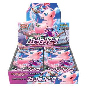 【ポケモンカードゲーム】ソード&シールド 拡張パック『フュージョンアーツ』BOX【ポケモン】より2021年9月発売予定☆