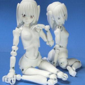 【里好】『漫画家の作った1/6可動デッサンドール2少女』3Dプリンタ製デッサンドール組み立てキット【DMM.make】より2021年7月発売済み♪