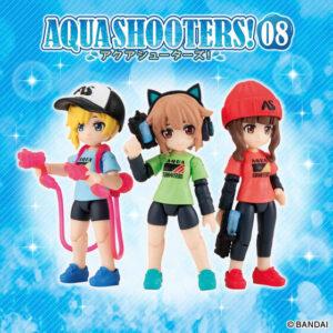 【アクアシューターズ!】ガシャポン『AQUA SHOOTERS!08』10個入りBOX【バンダイ】より2022年2月発売予定♪