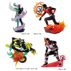 【仮面ライダー】プチラマ『仮面ライダー Legend Rider Memories』4個入りBOX【メガハウス】より2022年2月発売予定♪